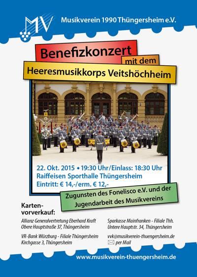 Benefitzkonzert Oktober 2015